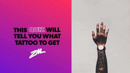 Thinking about getting a tattoo? Take this quiz first