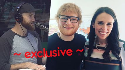 Vaughan got exclusive details on Ed Sheeran's meeting with PM Jacinda Ardern