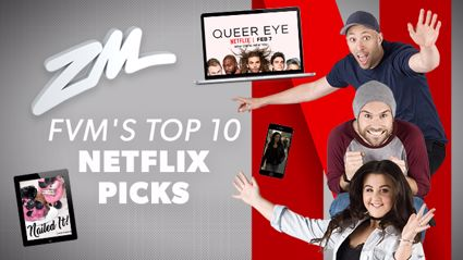 Fletch, Vaughan and Megan's top 10 Netflix picks for this long w.e