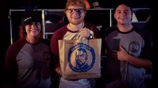 Ed Sheeran says his Queenstown Fergburger was 'by far the best burger in the world'