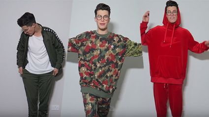 Cam shows off his insanely impressive tracksuit collection!