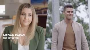 Megan features in a hilarious new ad with hubby Andrew - and he cheats on her!