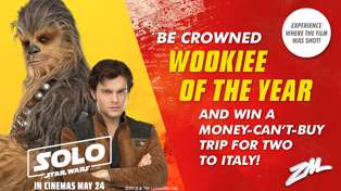 Win a trip to Italy with ZM's Wookiee of the Year!