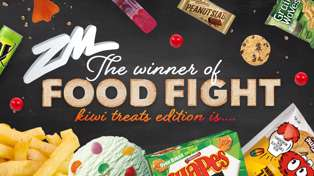 The WINNER of Fletch, Vaughan & Megan's Food Fight - Kiwi Treats Edition is....