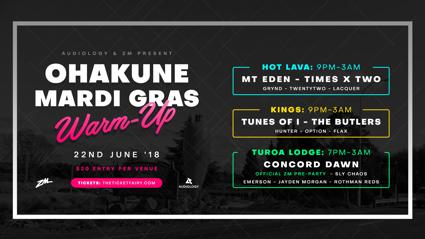ZM presents Ohakune Mardi Gras - The Warm Up!