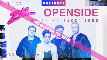 Win tickets to see OPENSIDE live!