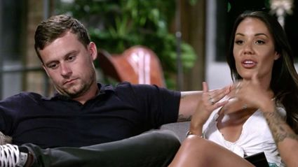 Ryan was kicked off MAFS AU premises after being caught in bed with another contestant