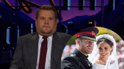 How James Corden almost ruined the Royal Wedding