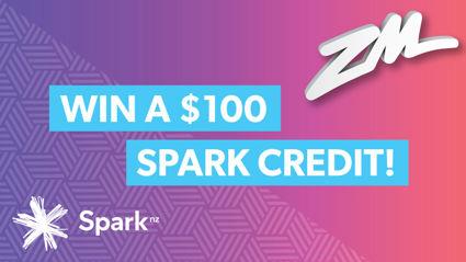 Win $100 Spark Credit!