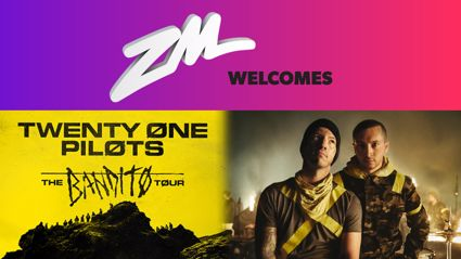 ZM welcomes Twenty One Pilots!