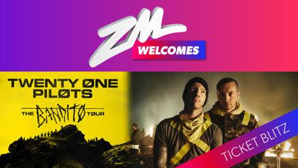 WIN Twenty One Pilots tickets with ZM's Ticket Blitz