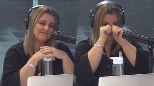 Vaughan made Megan and Producer Caitlin cry like babies