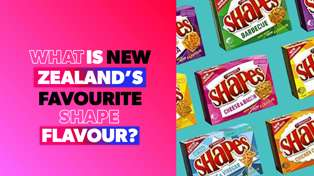 What is New Zealand's favourite Shape flavour? ZM investigates