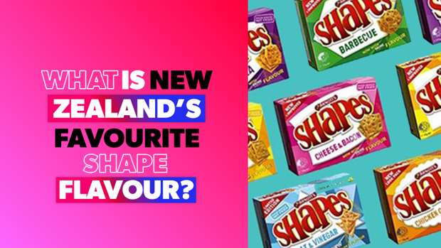 What Is New Zealands Favourite Shape Flavour ZM Investigates