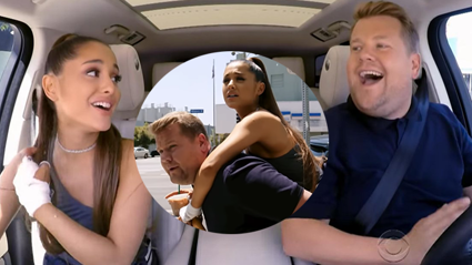 The major mystery in Ariana Grande's 'Carpool Karaoke' episode