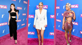All the hottest red carpet looks from the 2018 MTV VMA's