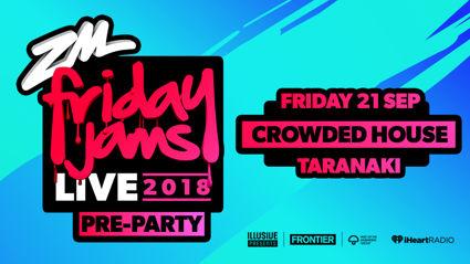 TARANAKI: Bree and Clint Friday Jams Live Pre Party at Crowded House