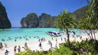 The famous Maya Bay has been closed indefinitely due to over-tourism
