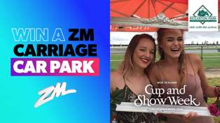 CHRISTCHURCH: Win Tickets to ZM's Carriage Car park at Riccarton Park
