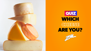 Everyone has a cheese that matches their personality - here's yours!