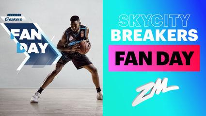 AUCKLAND: SKYCITY Breakers Fan Day