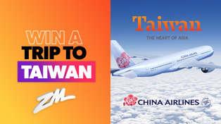 Win A Trip To Taiwan!