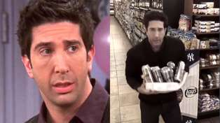 David Schwimmer responds to his viral criminal doppleganger