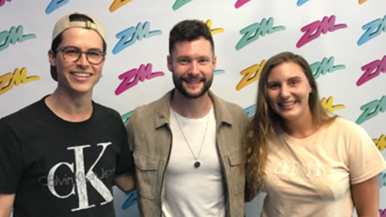 Calum Scott talks sexuality on ZM Snapchart