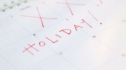 Here's how you can take 10 days off work in 2019 and only use 3 days of annual leave!