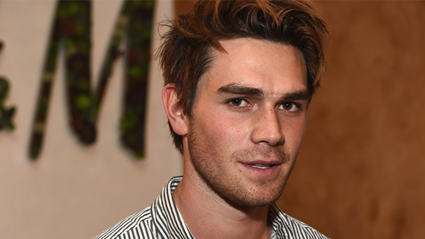 KJ Apa kills it in this sexy Halloween costume with Riverdale co-star!