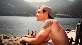 KJ Apa is stripping off just for you...