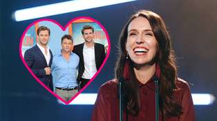 Who's the hottest Hemsworth? Prime Minister Jacinda Ardern gets in on the debate