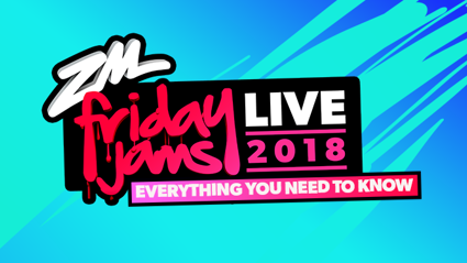 Everything you need to know for Friday Jams Live