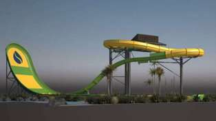 This epic water slide is coming to New Zealand!