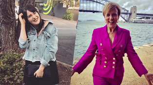Hilary Barry gives dating advice to Producer Caitlin