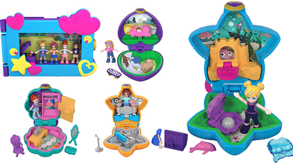 Calling all 90's kids: Polly Pockets are back!