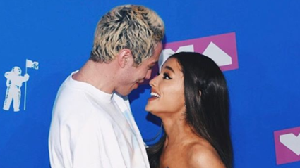 Ariana Grande shuts down those Pete Davidson haters