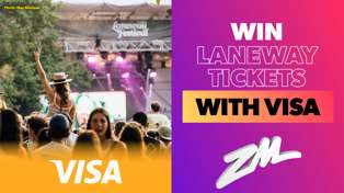 Win your way to Laneway with Visa