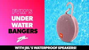 FVM's Underwater Bangers with JBL's Waterproof speakers!