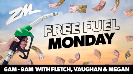 Fletch, Vaughan and Megan's Free Fuel for everyone!