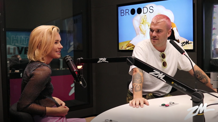 Broods explain the making behind their new song on Snapchart