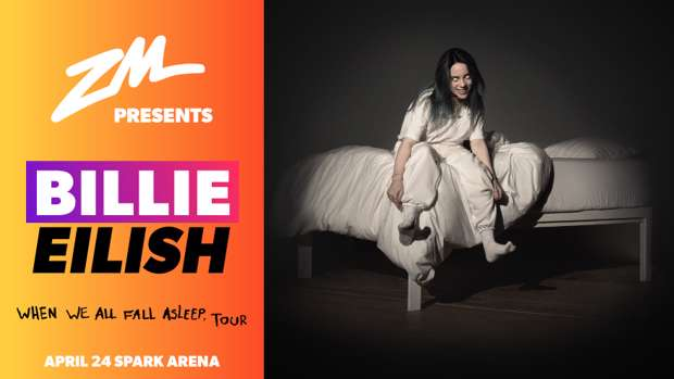 ZM Is Stoked To Present Billie Eilish Live In New Zealand This April