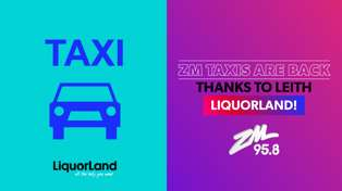 DUNEDIN: ZM Taxis with Leith Liquorland!