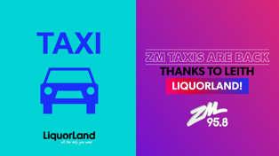 DUNEDIN: ZM Taxis with Leith Liquorland!