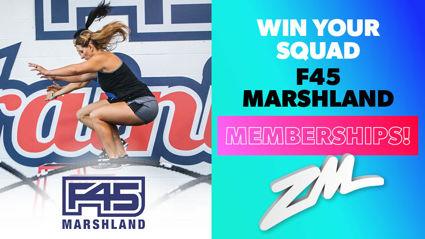 CHRISTCHURCH: Win Your Squad F45 Marshland Memberships