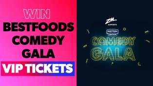 Win a VIP Flyaway to the Best Foods Comedy Gala in Auckland or Wellington