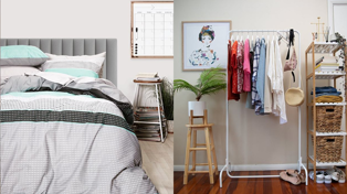Here's how you can kit out your flat in a stylish and affordable way!