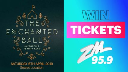 HAWKE'S BAY! Win tickets to the Enchanted Ball!