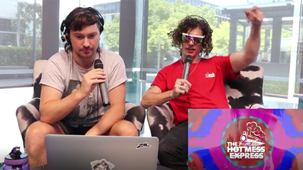 Peking Duk roast The Hot Mess Express' DJ set