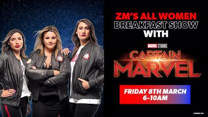 ZM's All Women Breakfast Show with Marvel Studios' Captain Marvel